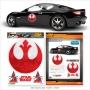 Star Wars Rebel Logo Automotive Decal.