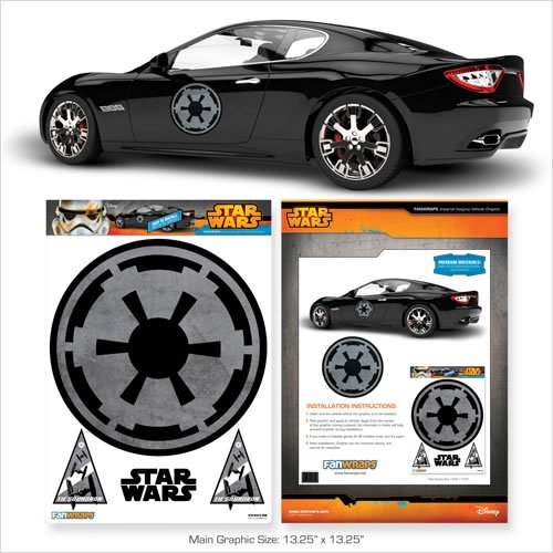 Star Wars Imperial Logo Automotive Decal