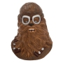 Star Wars Solo Chewbacca Sculpted Ceramic Cookie Jar.