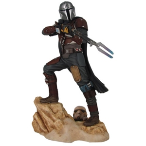 Star Wats Premier Collection Star Wars The Mandalorian MK1 Statue