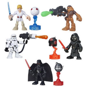 Star Wars Galactic Heroes Featured Figure Wave 3 Case