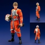 Star Wars Luke Skywalker X-Wing Pilot ArtFX+ 1/10 Scale Statue. Statue stand 6.69 inches tall.