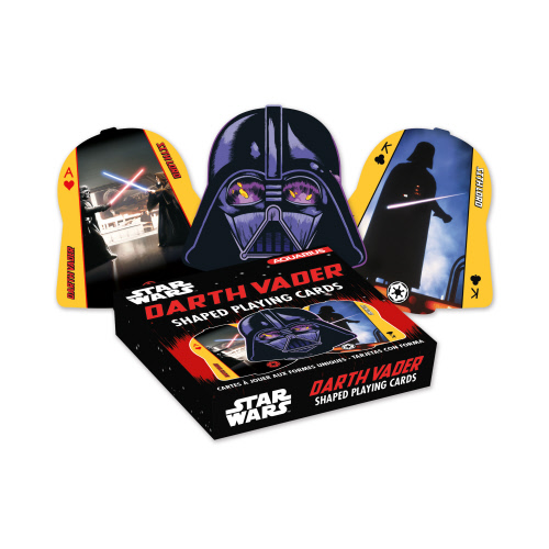 Star Wars Darth Vader Shaped Playing Cards.