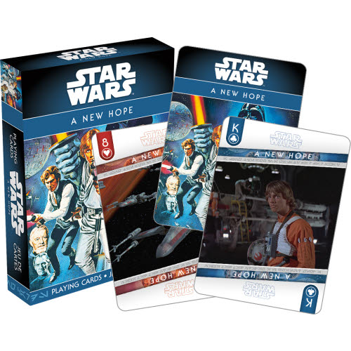 Star Wars Episode 4 A New Hope Playing Cards.