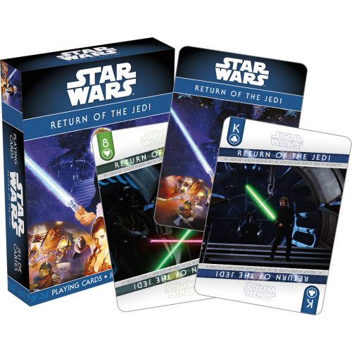 Star Wars Episode 6 Return of the Jedi Playing Cards.