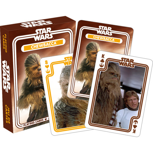 Star Wars Chewbacca Playing Cards.