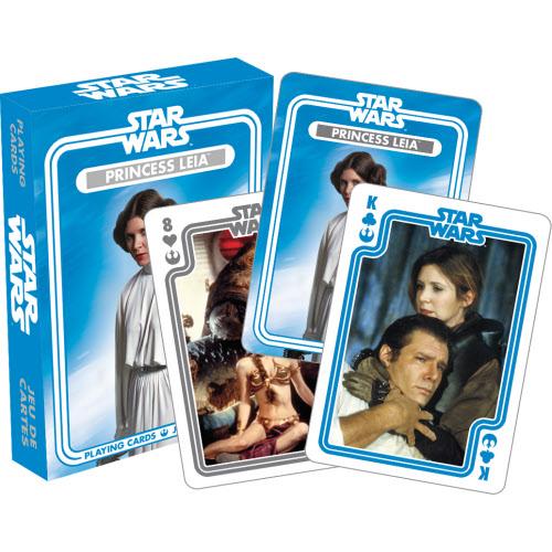 Star Wars Princess Leia Playing Cards.