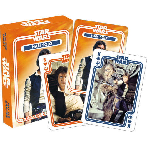 Star Wars Han Solo Playing Cards.