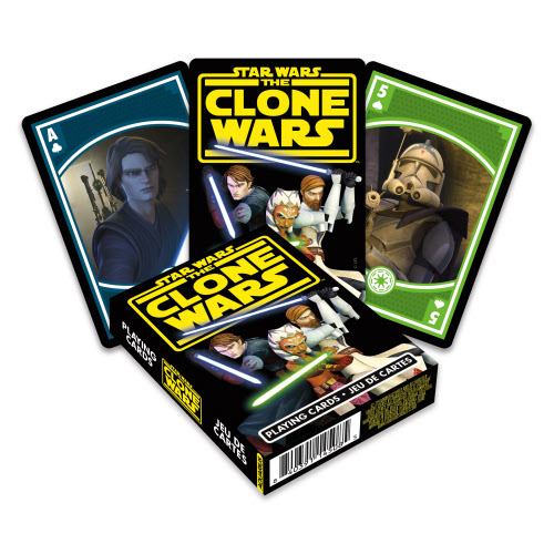 Star Wars The Clone Wars Playing Cards.