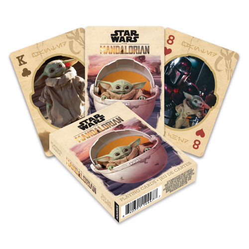 Star Wars The Mandalorian The Child Playing Cards.
