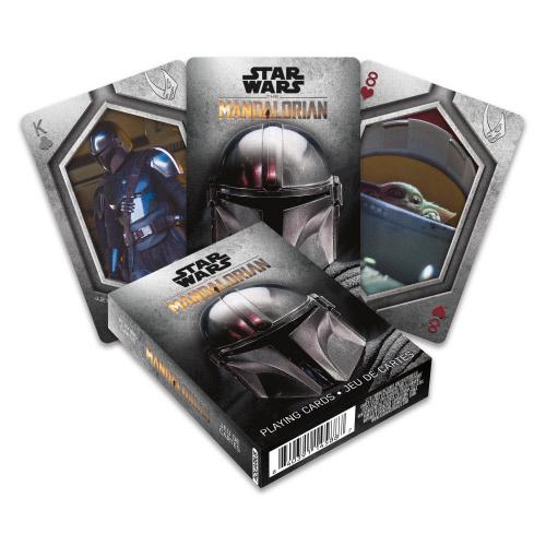 Star Wars The Mandalorian Photos Playing Cards.