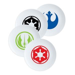 Star Wars 4 piece 8 inch Ceramic Plate Set