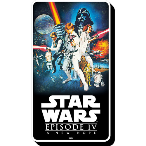 Star Wars Episode 4 A New Hope Funky Chunky Magnet.
