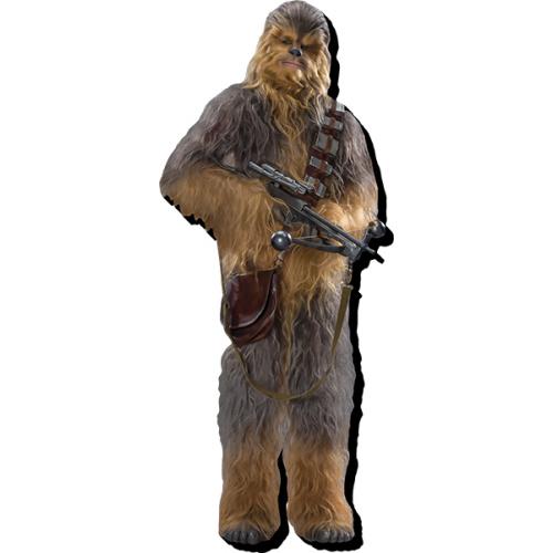 Star Wars Chewbacca Funky Chunky Magnet