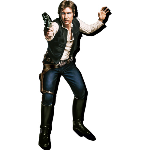 Star Wars Han Solo Funky Chunky Magnet