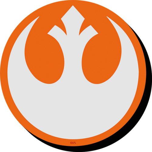 Star Wars Rebel Symbol Funky Chunky Magnet.