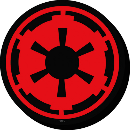Star Wars Imperial Symbol Funky Chunky Magnet.