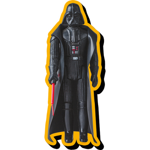 Star Wars Darth Vader Action Figure Funky Chunky Magnet.