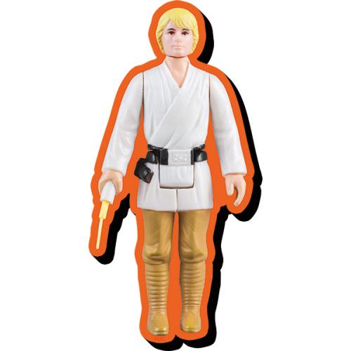 Star Wars Luke Skywalker Action Figure Funky Chunky Magnet.
