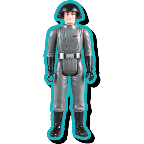 Star Wars Death Star Commander Action Figure Funky Chunky Magnet.