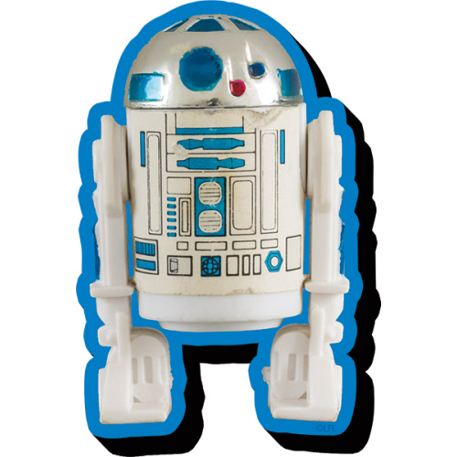 Star Wars R2-D2 Action Figure Funky Chunky Magnet.