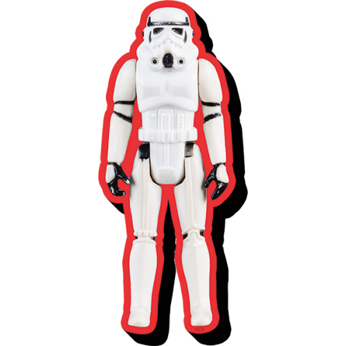 Star Wars Stormtrooper Action Figure Funky Chunky Magnet.