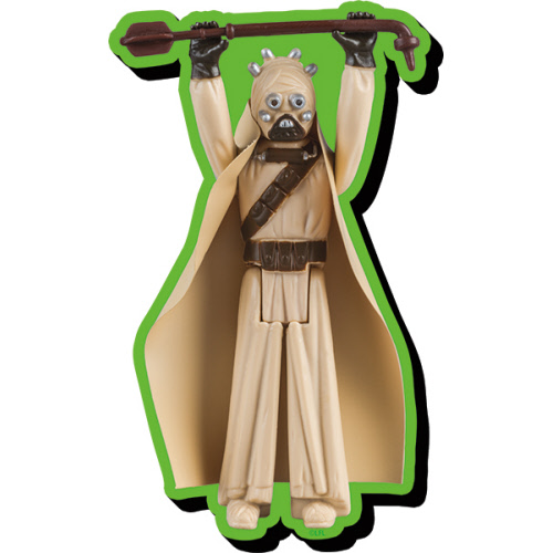 Star Wars Tusken Raider Action Figure Funky Chunky Magnet.