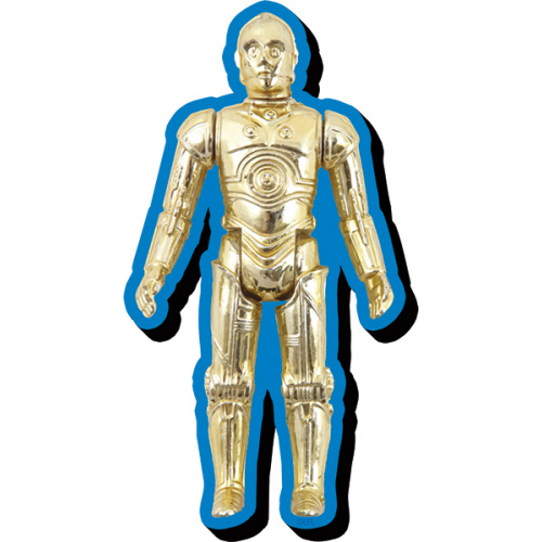 Star Wars C3PO Action Figure Funky Chunky Magnet