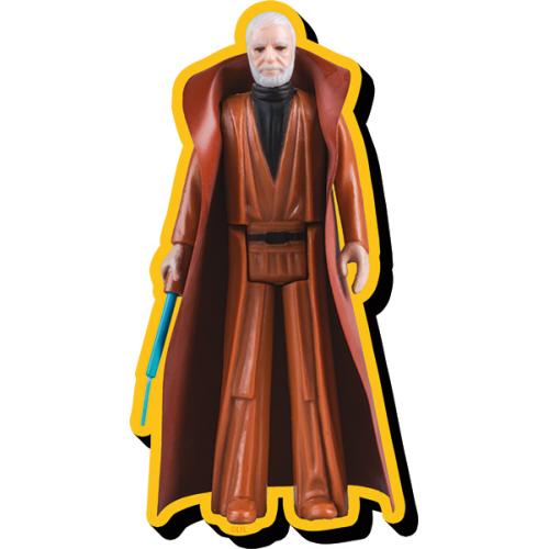 Star Wars Obi-Wan Kenobi Action Figure Funky Chunky Magnet.