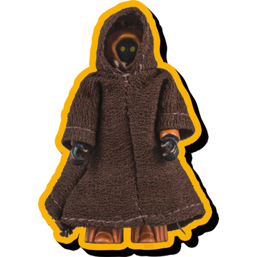 Star Wars Jawa Action Figure Funky Chunky Magnet.
