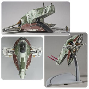 Star Wars Slave 1 1/144th Scale Model Kit