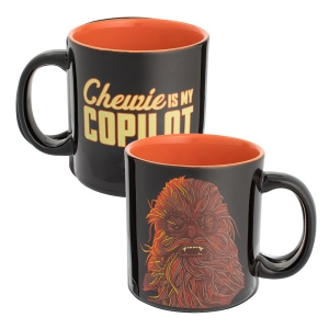 Star Wars Red Cup Chewbacca 20 Ounce Ceramic Mug