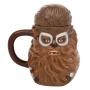 Star Wars Solo Chewbacca 20 Ounce Sculpted Ceramic Mug.