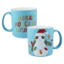 Star Wars Porg Merry Force Be With You 20 Ounce Ceramic Mug.