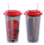 Star Wars Rise of Skywlaker 16 Ounce Flip Straw Acrylic Cup.