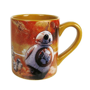 Star Wars Episode VII The Force Awakens BB-8 Orange 14 Ounce Ceramic Mug