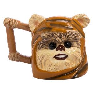 Star Wars Ewok 20 Ounce Ceramic Sculpted Mug