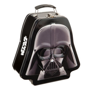 Star Wars Darth Vader Embossed Lunch Box Tin Tote
