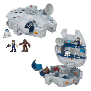 Star Wars Galactic Heroes Millennium Falcon Vehicle with Figures