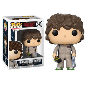 Stranger Things Ghostbusters Dustin Pop! Vinyl Figure