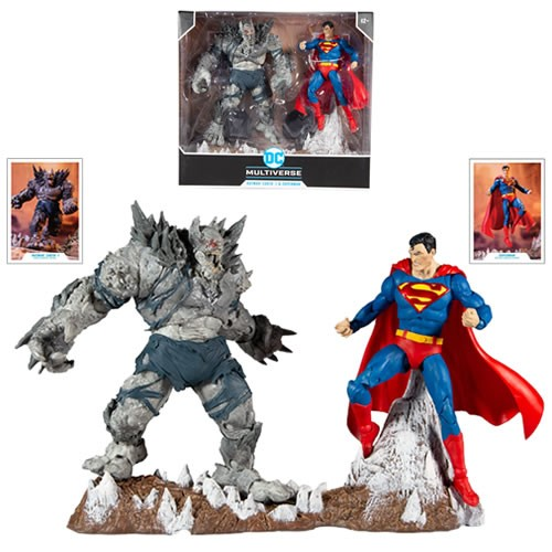 DC Multiverse Superman Vs. The Devastator Multipack 7 Inch Scale Action Figures.