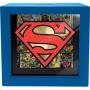 Superman Shadow Box Bank.