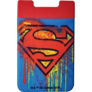 Superman Logo Phone Card Holder