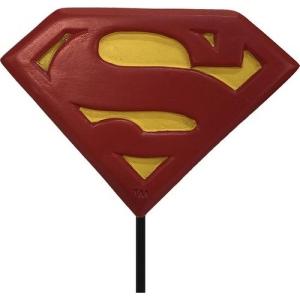Superman Garden Pick