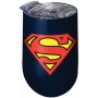 Superman Stainless Wine Tumbler.