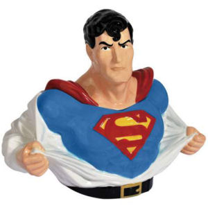 Westland Giftware Superman Ceramic Cookie Jar