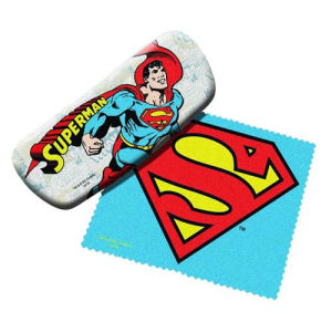 Superman Eyeglasses Case with Cleaning Cloth