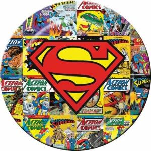 Superman Melamine Plate
