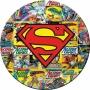 Superman Melamine Plate.