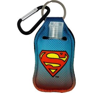 Superman Sanitizer Cover Key Chain